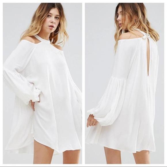 NWT Free People Drift Away Flowy Boho Tunic Dress Top Size XS